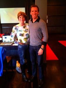 My Mom and I at Lifebook.