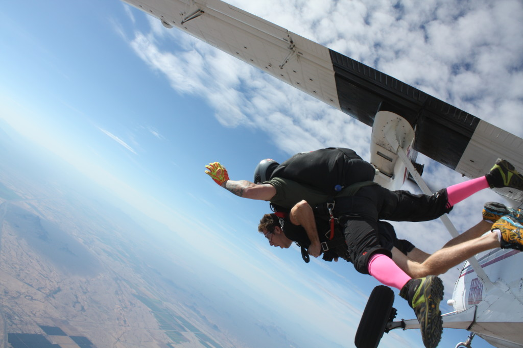Overcoming my fear of skydiving