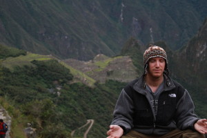 Meditating in the Andes