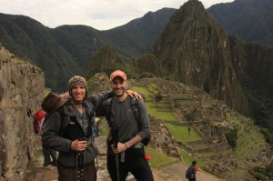 Damion and I at Machu Picchu