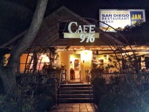 Cafe 976, San Diego