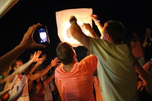 Chinese Lantern Ceremony