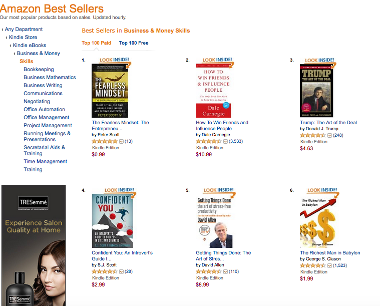 Amazon #1 Best Selling Author