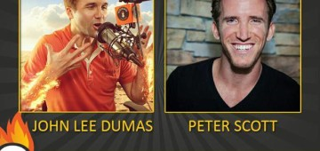 EOFire Interview with John Lee Dumas & Peter Scott IV